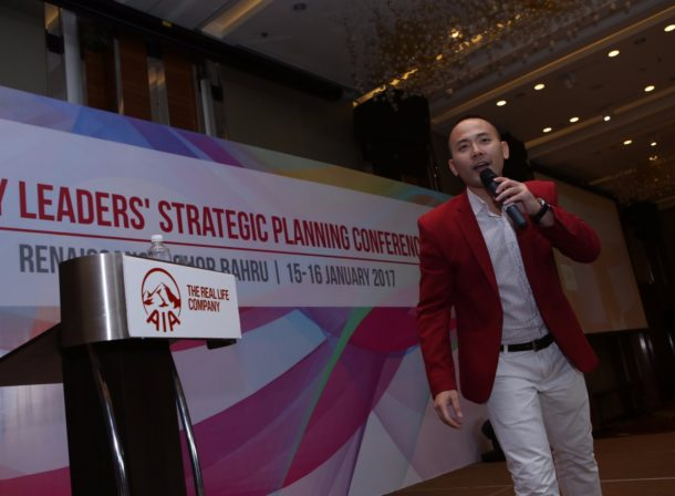 Emcee Winston Wei from Singapore has a larger than life personality and stage presence. He is hosting the Strategic Planning Conference event for AIA. Learn more about AIA at https://www.aia.com.sg/en/index.html