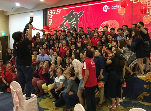 Best hip hop MC in Singapore - Winston Wei together with the crowd from G8 Education including staffs from Cherie Hearts! For details on G8 Education Singapore, see https://www.g8education.edu.sg/ To learn more about Cherie Hearts, visit https://www.cheriehearts.com.sg/